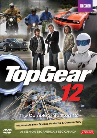 Топ Гир / Top Gear UK (Сезон 12) (2008)