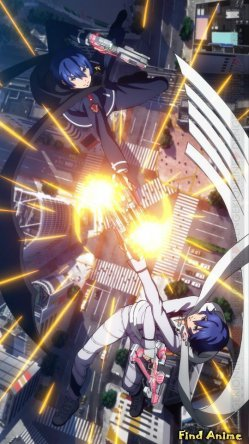 Небесные стрелки / Gunslinger Stratos: The Animation (2015)