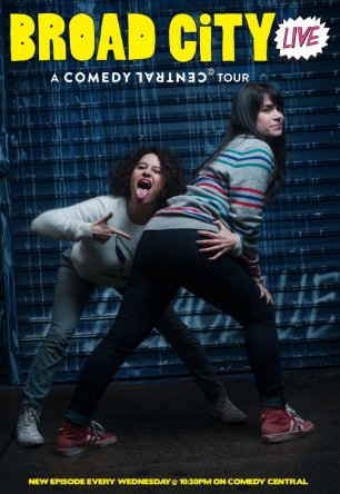 Брод Сити / Broad City (Сезон 1) (2014)